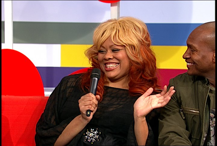 Joia Mercedes on the Couch at 106 & Park