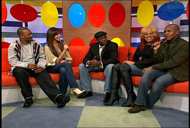 The Cast of Remixed! on 106 & Park