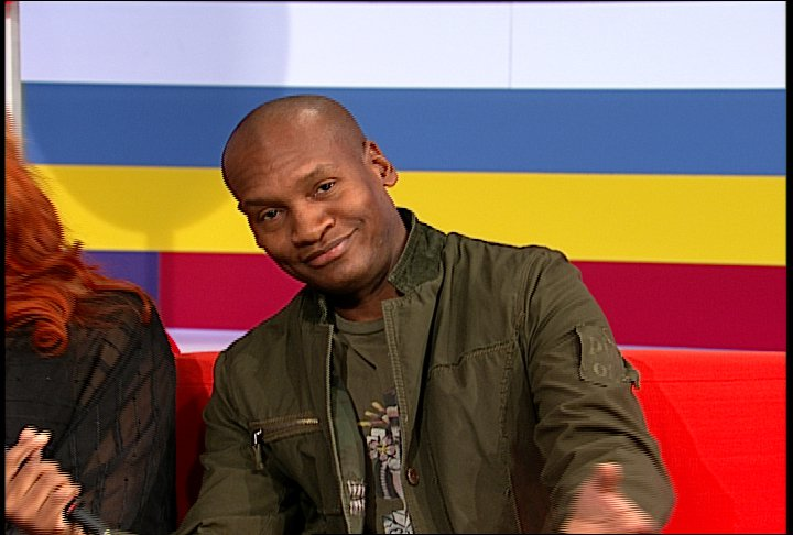 Marcellas Reynolds on the Couch at 106 & Park
