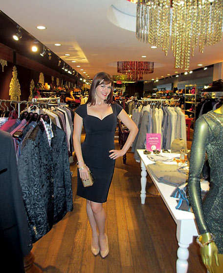 Actress Sara Rue attends the Ted Baker Soiree