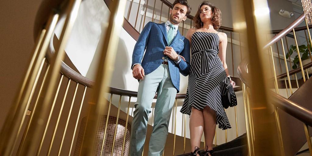 Models - Stefano Maderna, Jessica Bleier