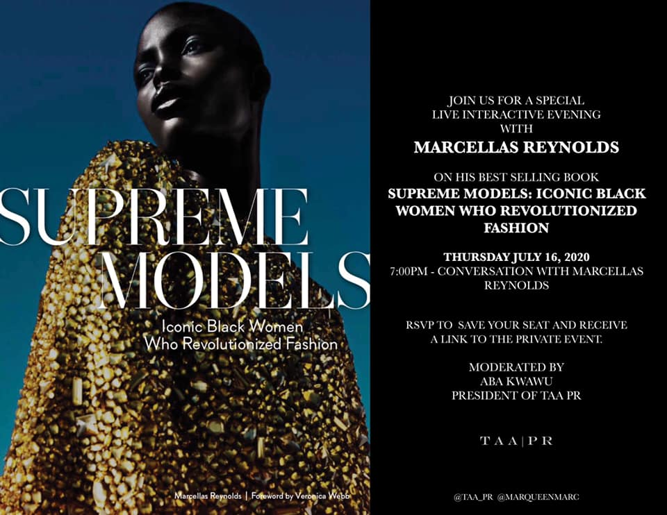 TAA PR SUPREME MODELS TALK July 16 2020